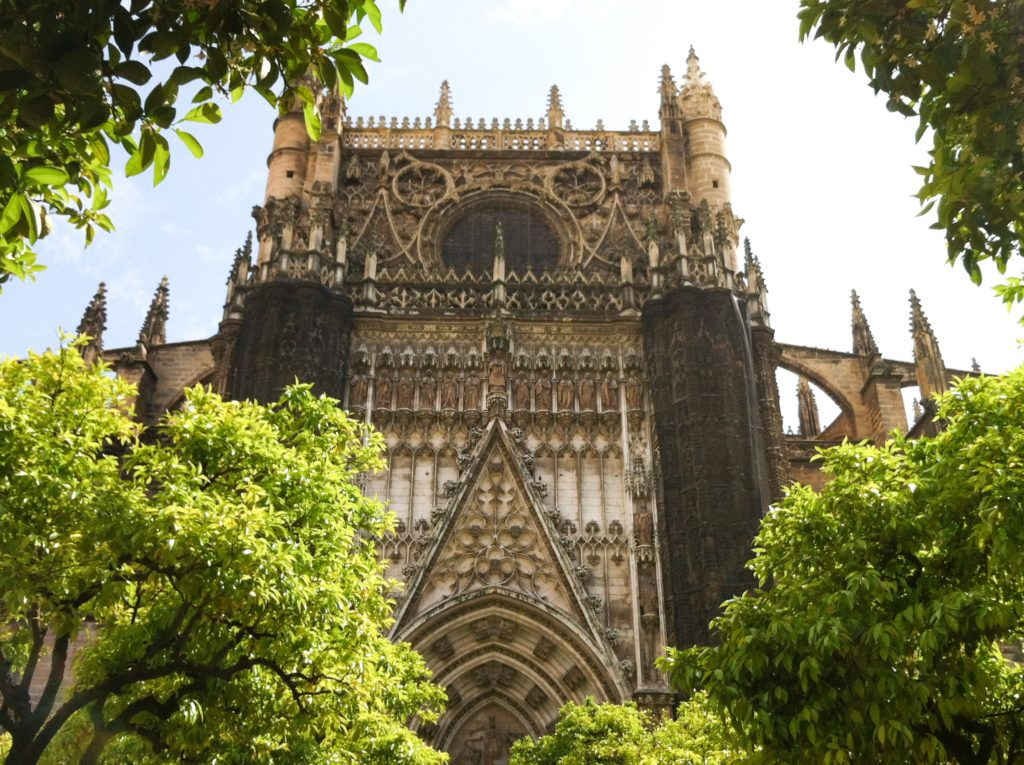 The Cathedral of Seville in Spain