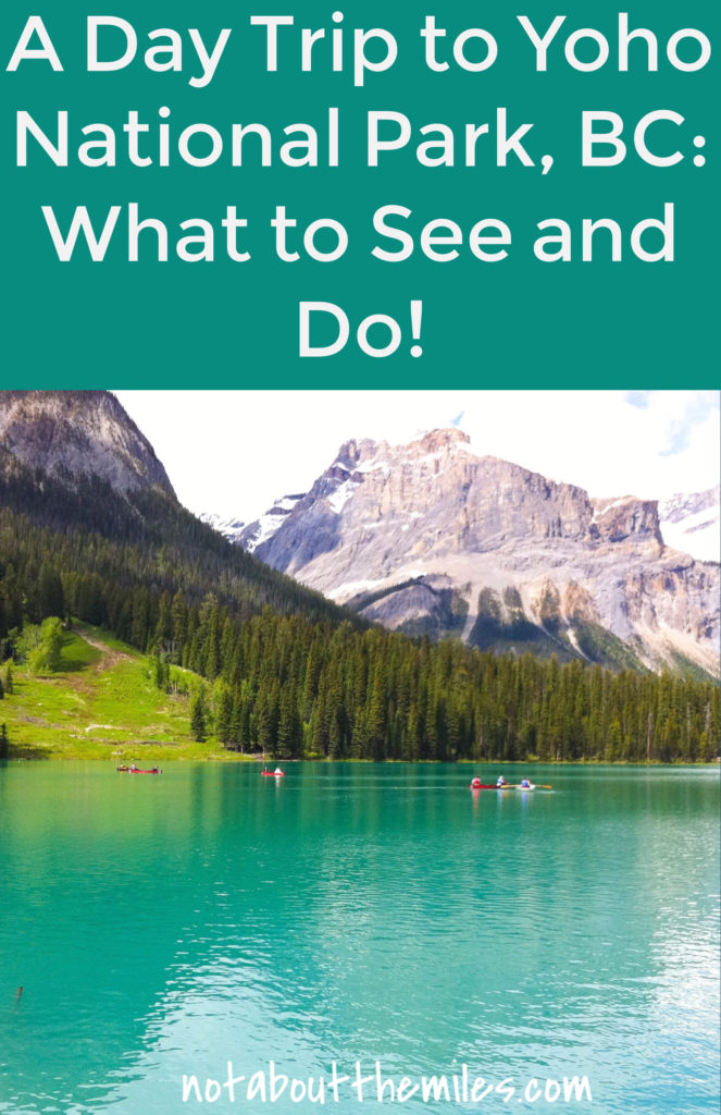 A day trip to Yoho National Park in BC, Canada, is a must-do if you are in Banff or Lake Louise. With its spectacular scenery and fun things to do, Yoho National Park will wow you!