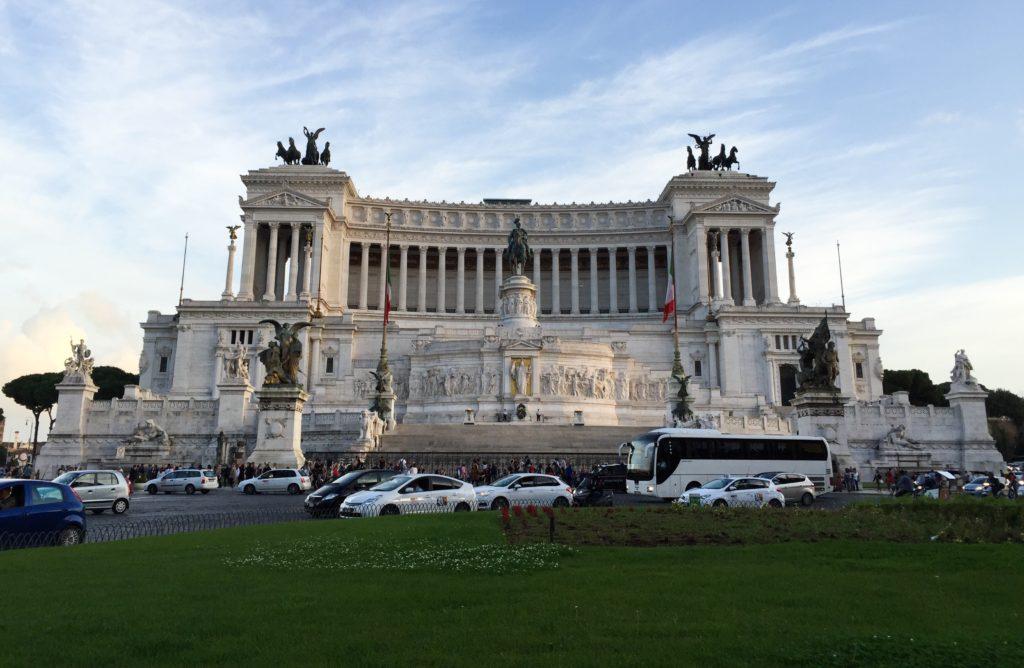Monumento de Vittorio Emanuele in Rome Italy