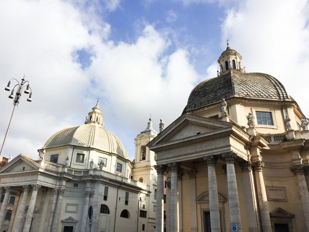 Piazza del Popolo Rome Italy