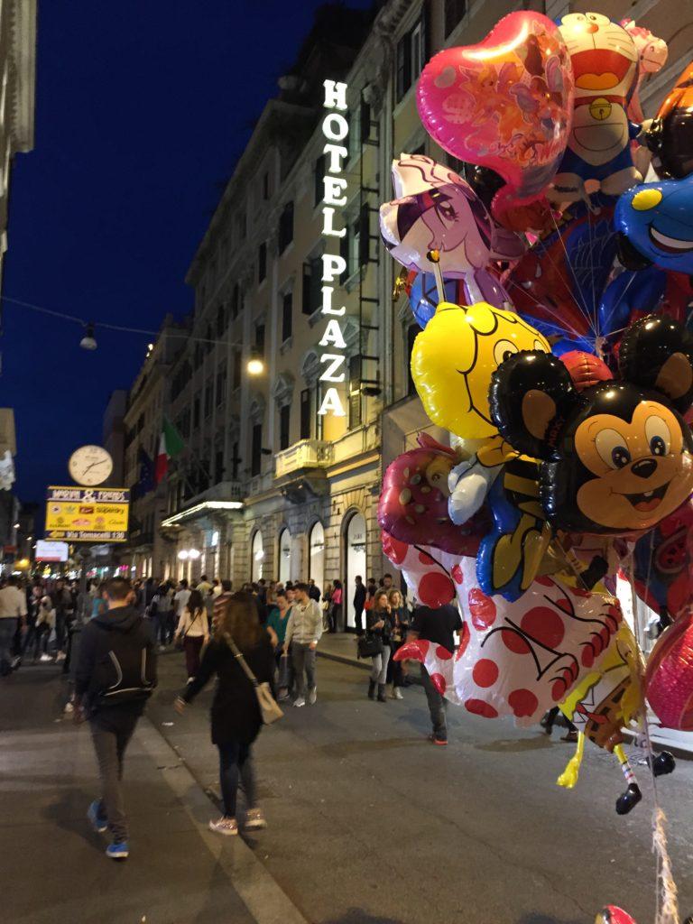 Via del Corso Rome Italy