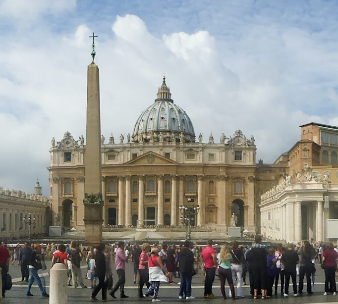 The Basilica di San Pietro in Vatican City