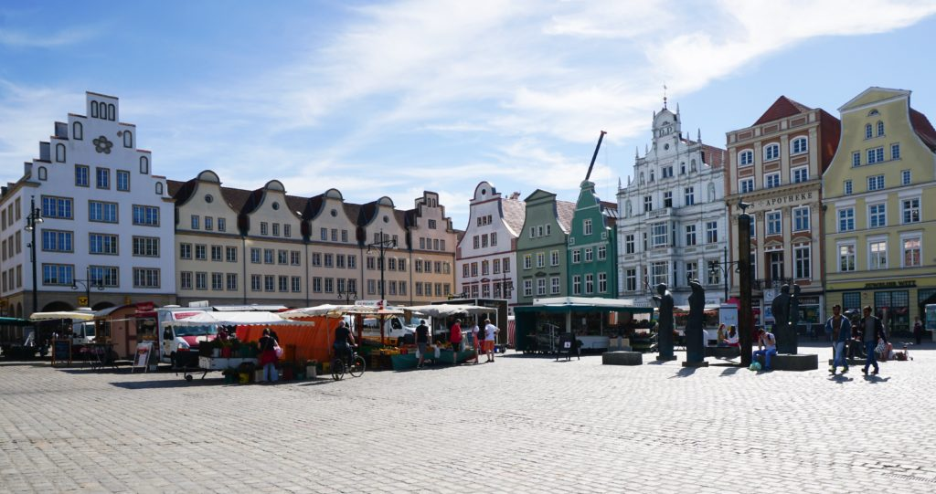 Neuer Markt in Rostock, Germany