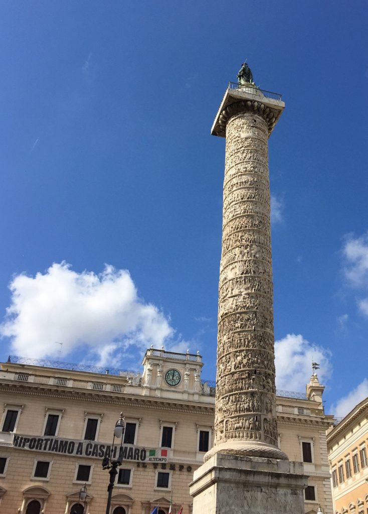 Column of Marcus Aurelius Rome Italy