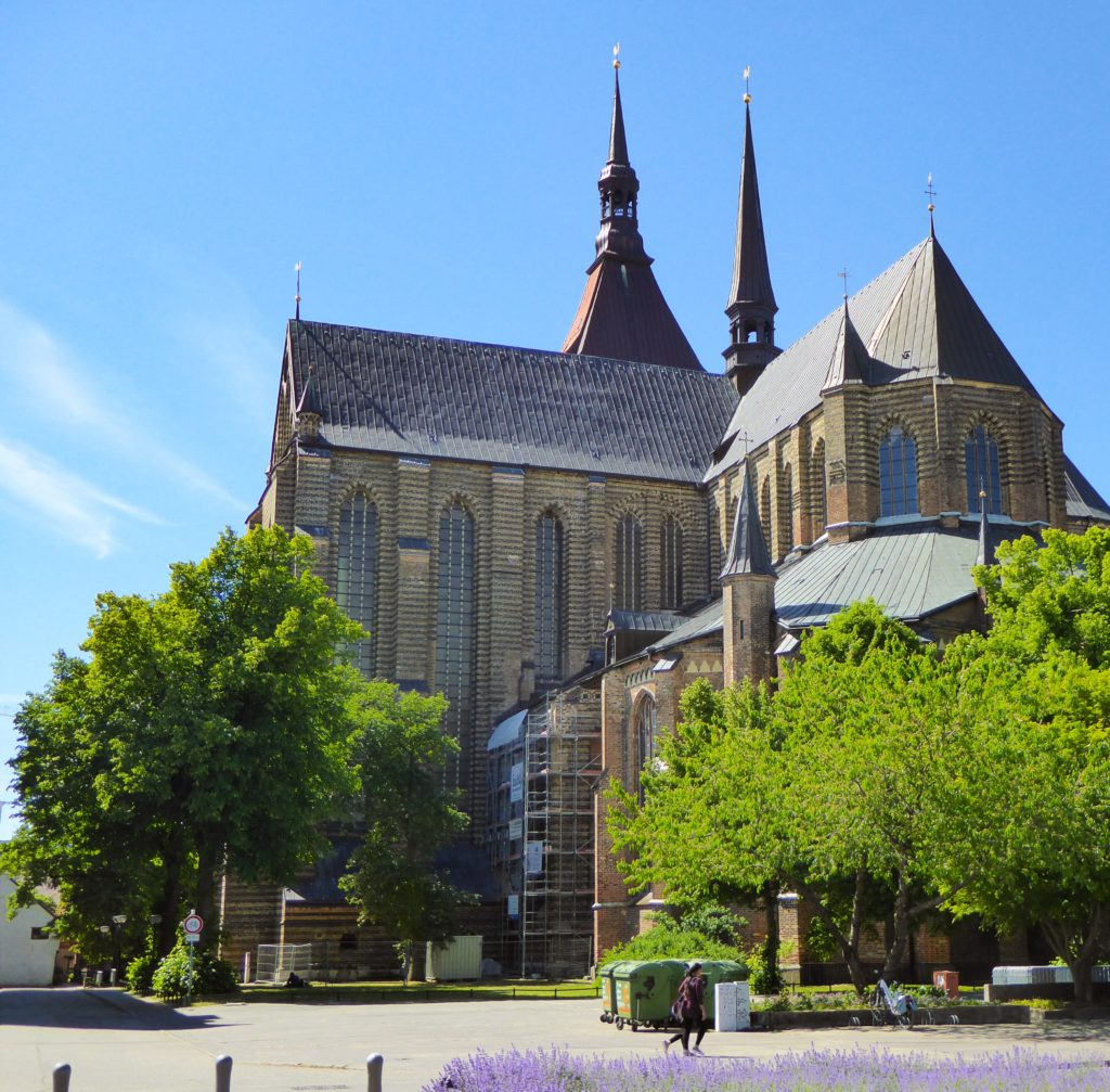 St. Mary's Church in Rostock Germany