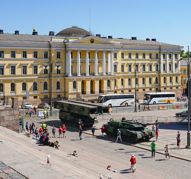 Government Palace Helsinki Finland