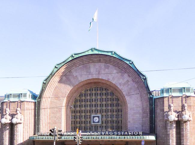 Helsinki Central Station, Helsinki, Finland