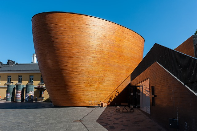 Kamppi Chapel Helsinki Finland