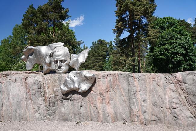 Sibelius Monument Helsinki Finland