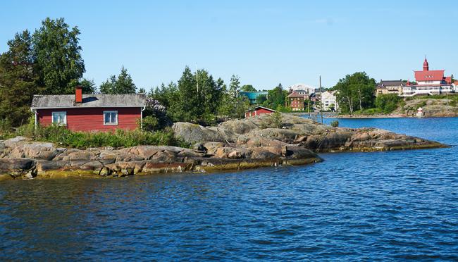 View from Suomenlinna Ferry, Helsinki, Finland
