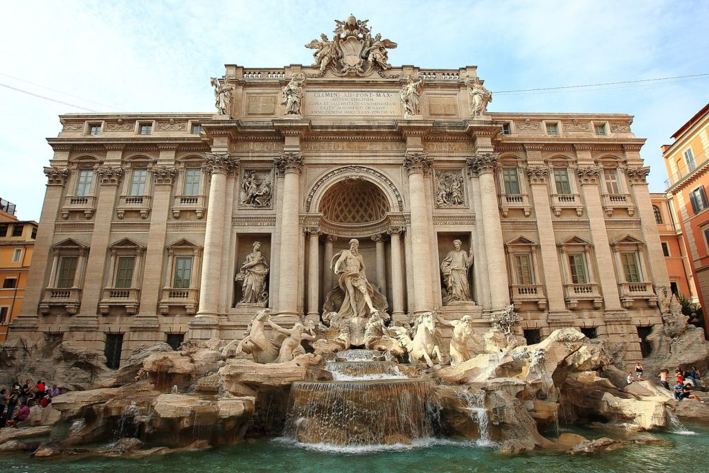 Throw a coin into the Trevi Fountain to ensure your return to Rome!