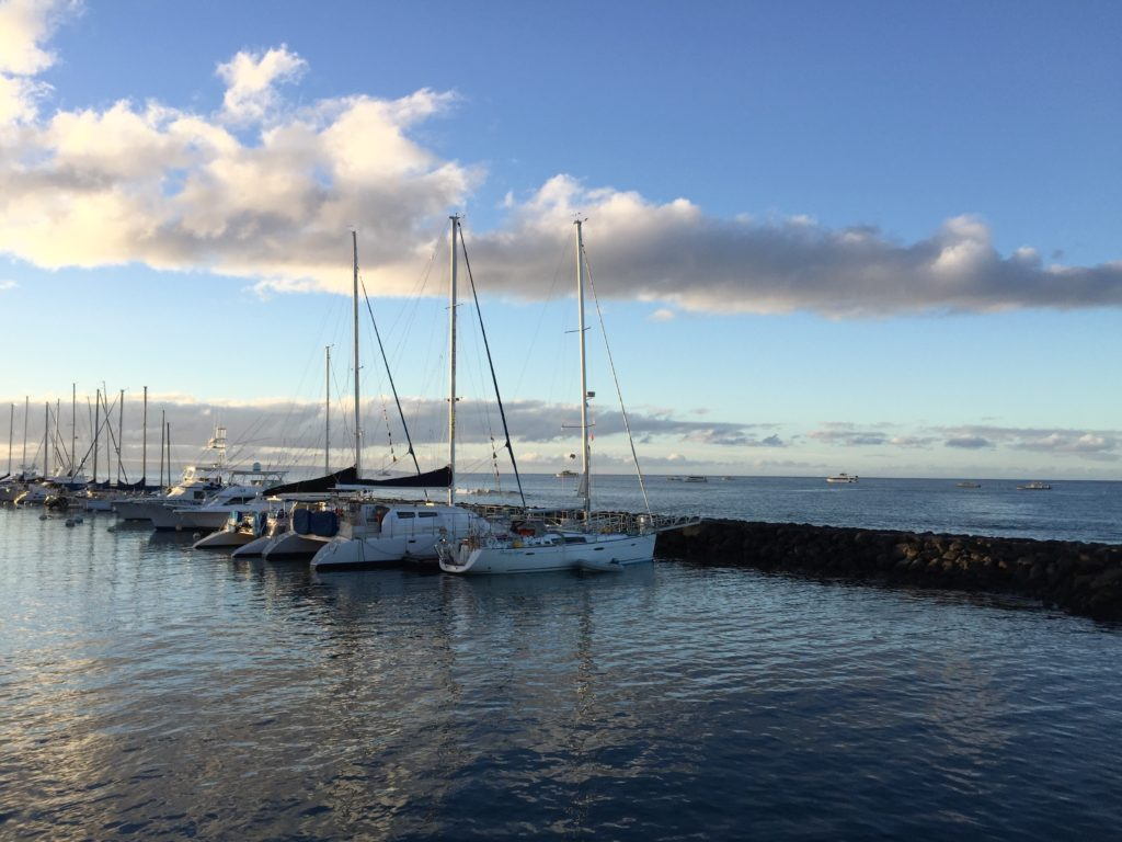 Lahaina Harbor at Dawn, Maui Hawaii