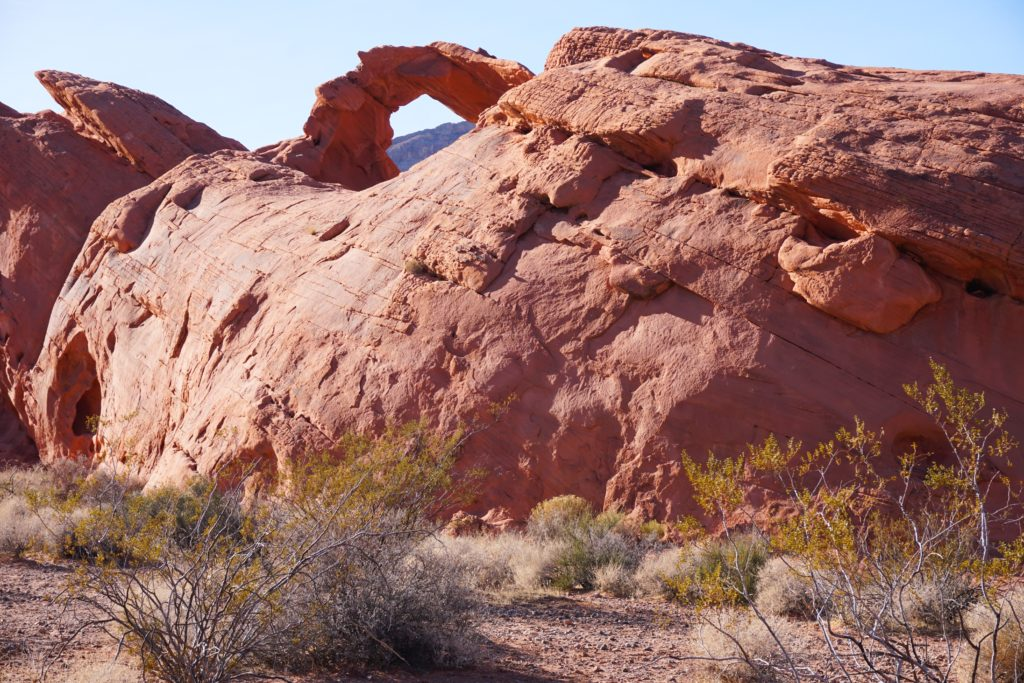 Arch Rock at Valley of Fire State Park