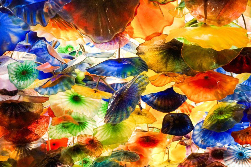 Fiori di Como sculpture by Chihuly at the Bellagio in Vegas