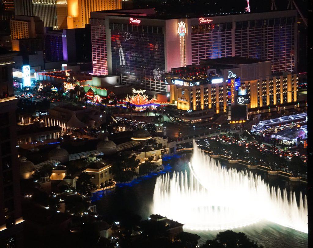 The Fountains of Bellagio Las Vegas