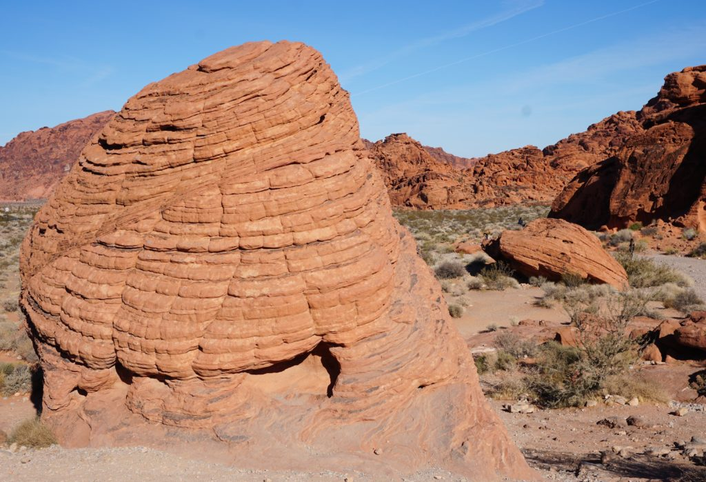 The Beehives at Valley of Fire State Park in Nevada