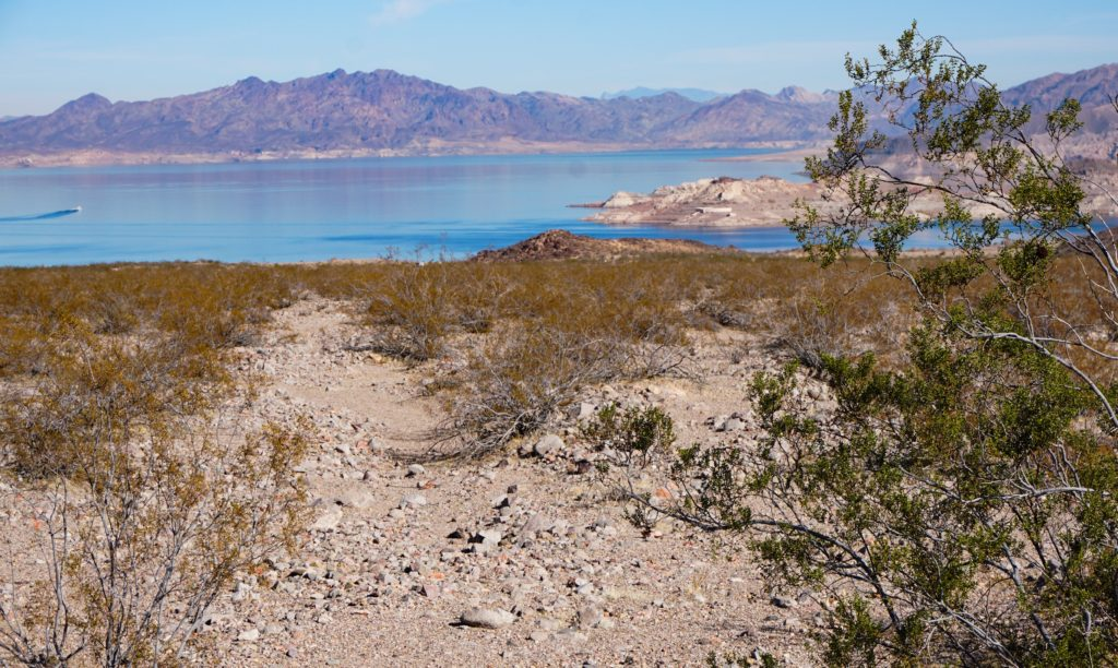 View of Lake Mead Nevada