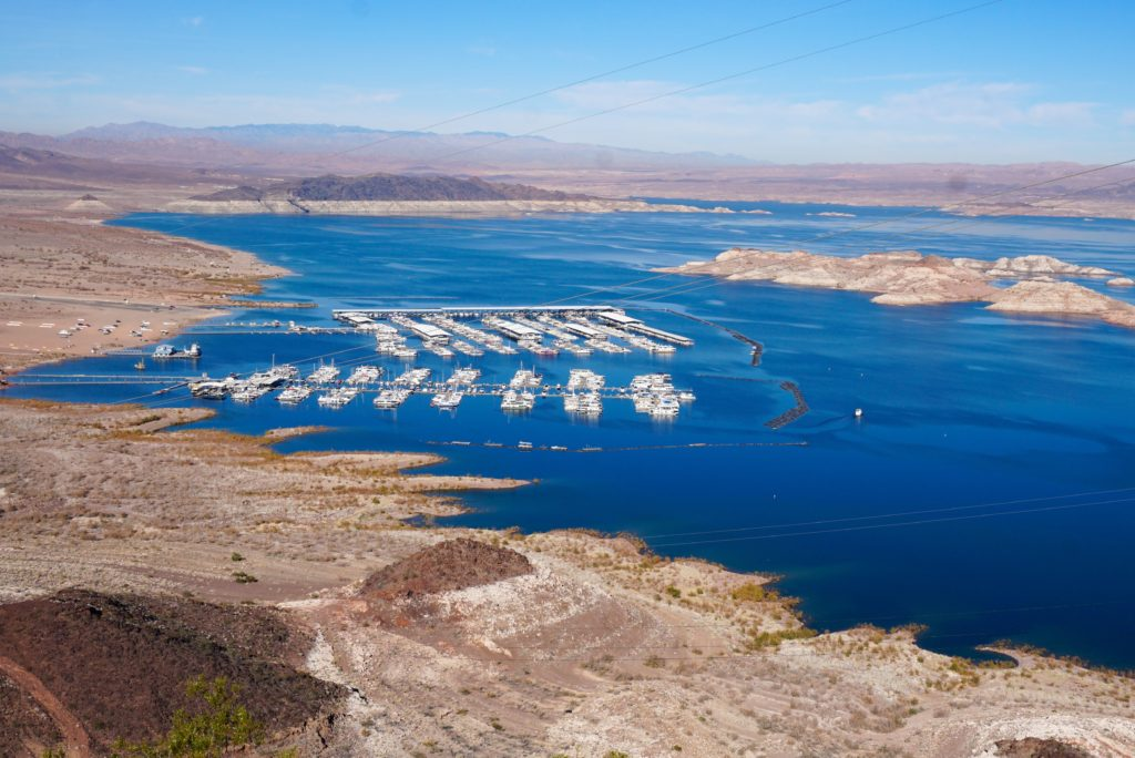 A view of Lake Mead Nevada