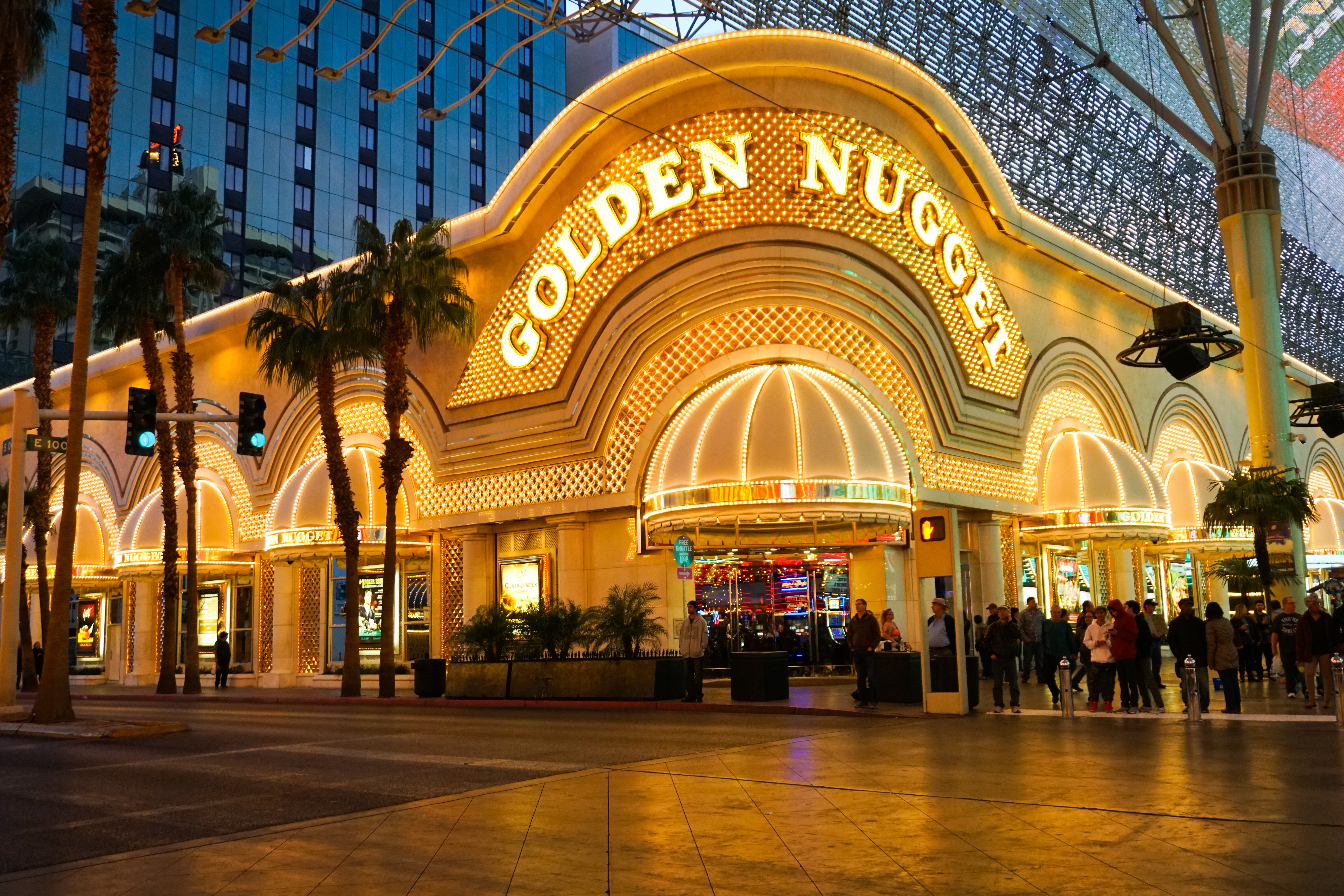 Golden Nugget Casino Downtown Las Vegas Nevada It S Not About The Miles