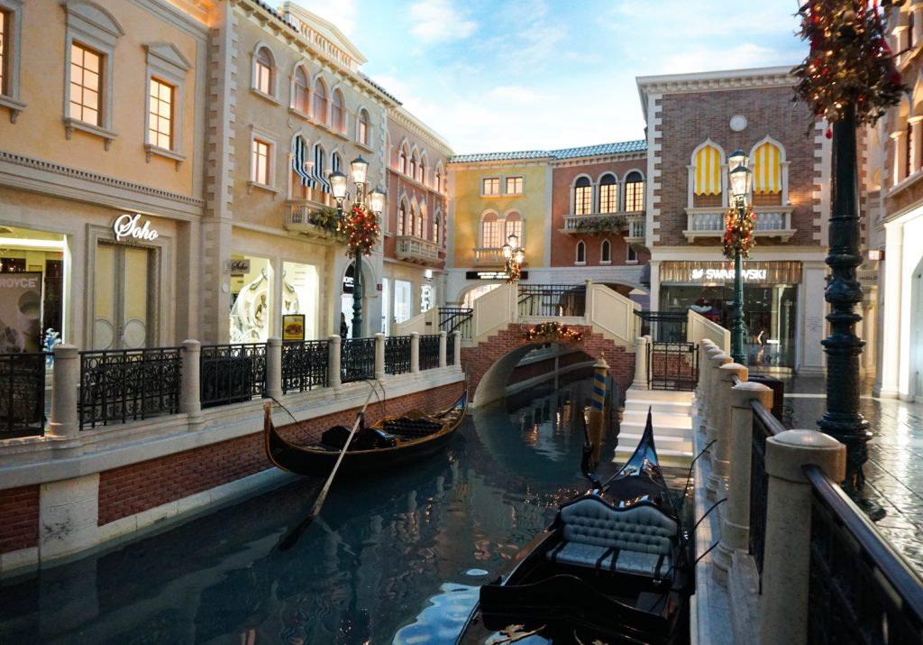 Shops at the Venetian in Las Vegas