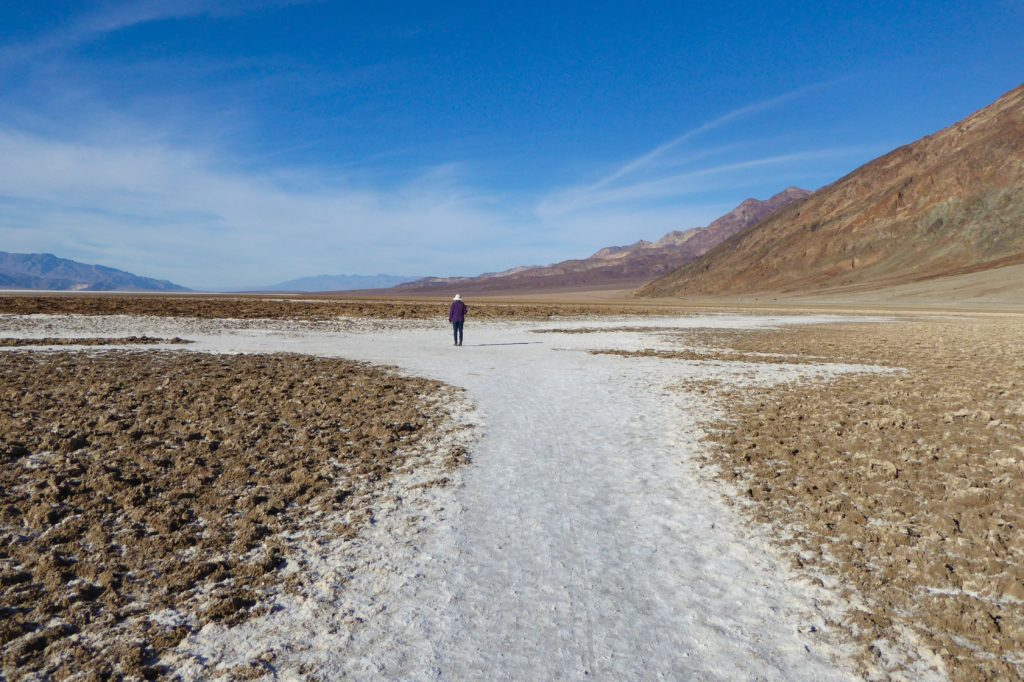 Badwater Basin Death Valley National Park California