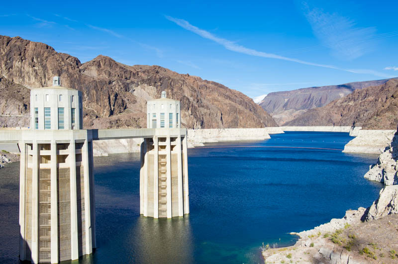 Touring Hoover Dam in Nevada