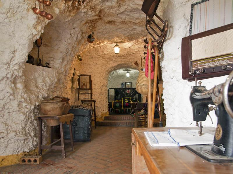 A House Cave in Sacramonte Granada Spain
