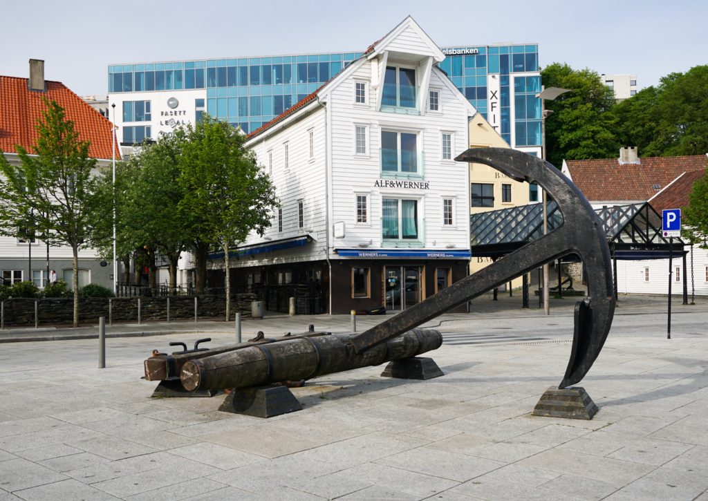 Sculpture at Stavanger Harbor, Norway