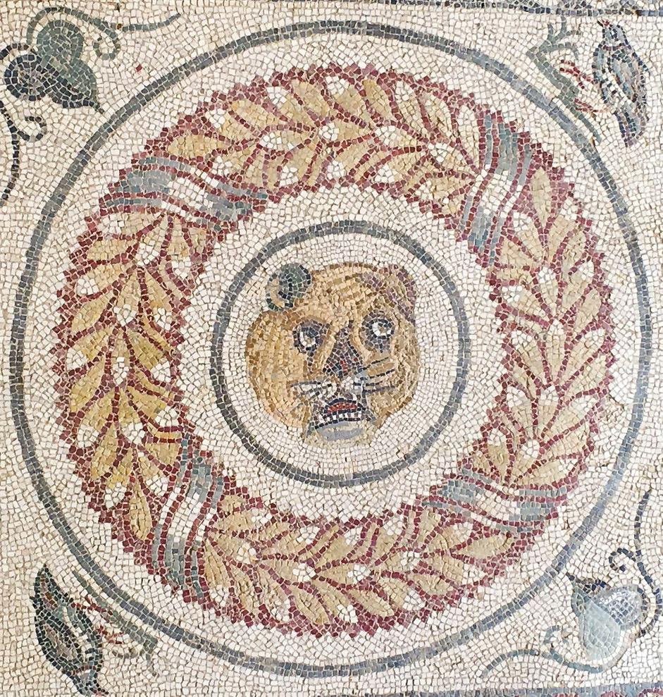 Mosaic at Villa Romana del Casale Sicily Italy