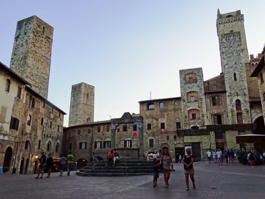 Historic Center San Gimignano Italy