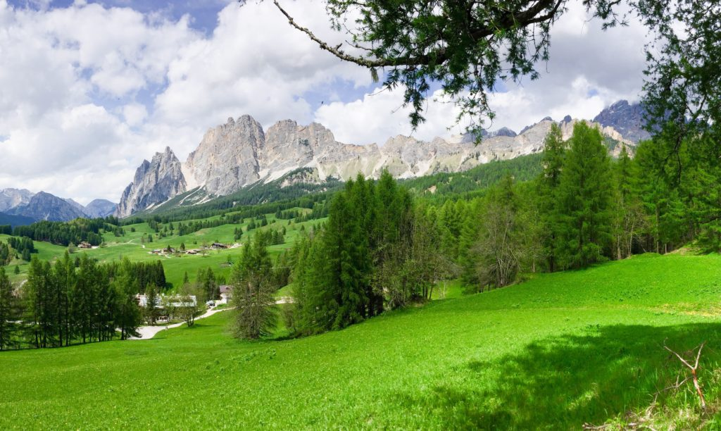 The Dolomites, one of the natural UNESCO World Heritage Sites in Italy