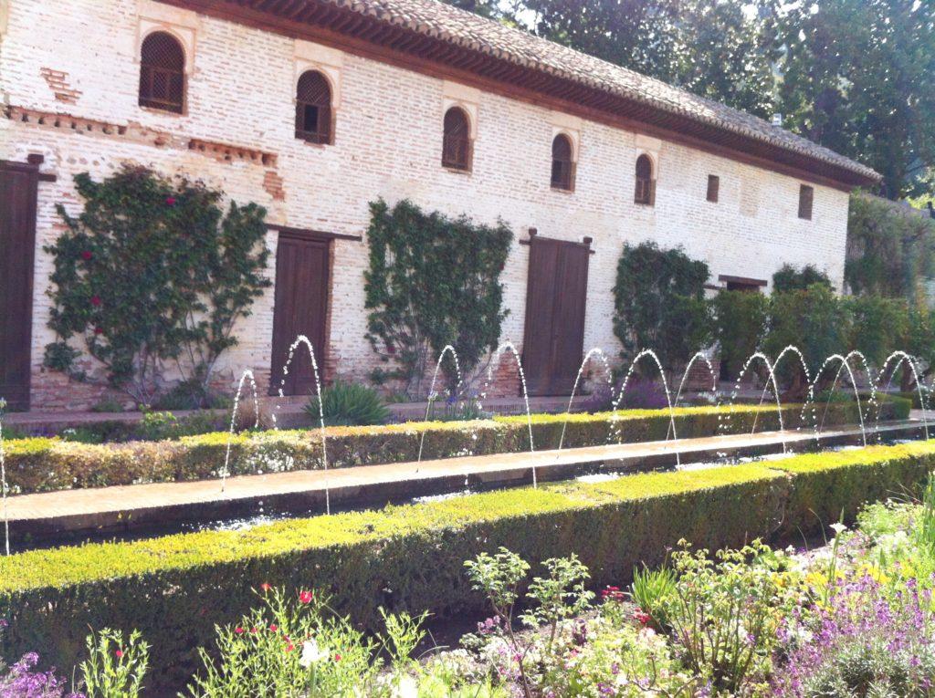 Generalife Gardens Granada Spain