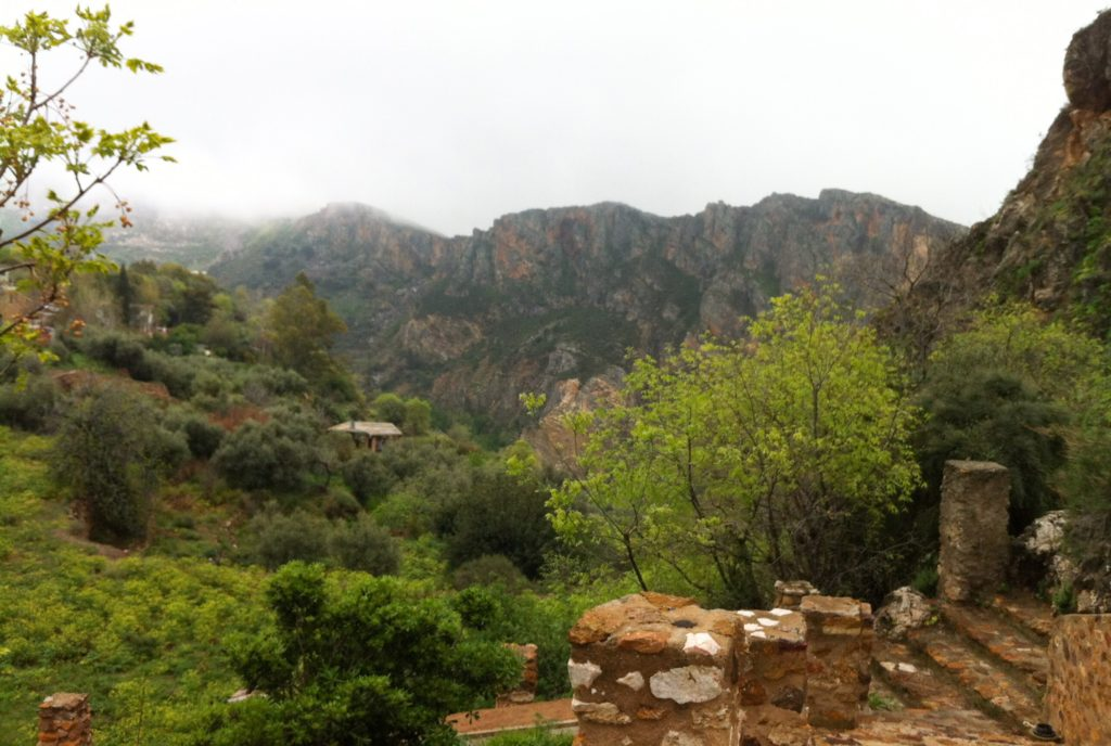 The Alpujarras in Andalusia Spain