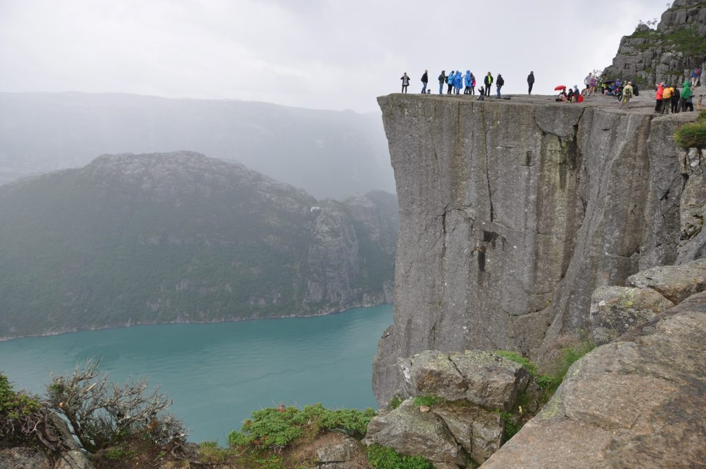 Hiking to the top of Pulpit Rock is one of the best things to do in Stavanger!