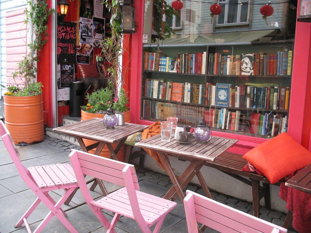 Bookstore Ovre Holmegate Stavanger Norway