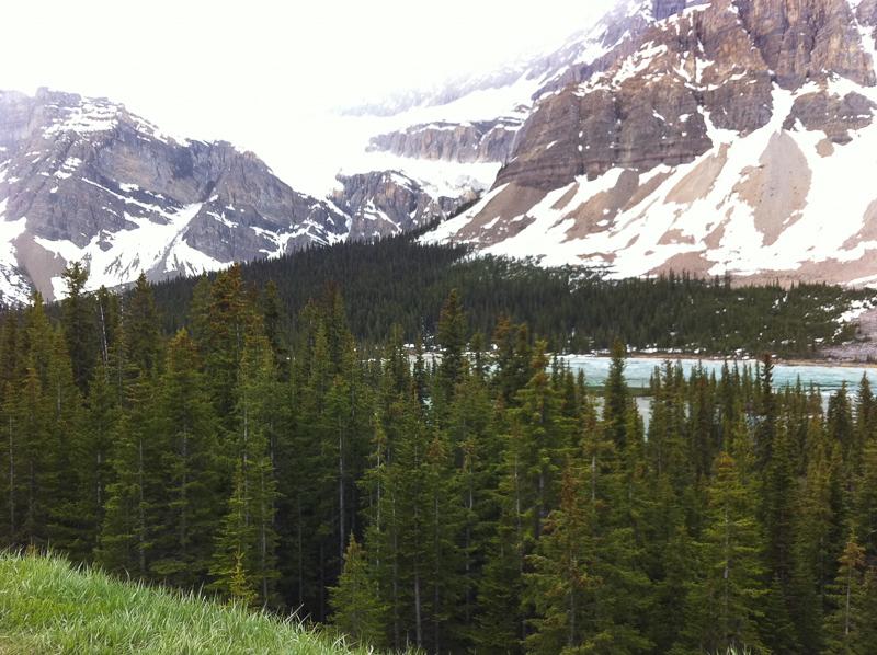 Crowfoot Glacier, Canadian Rockies, Alberta, Canada
