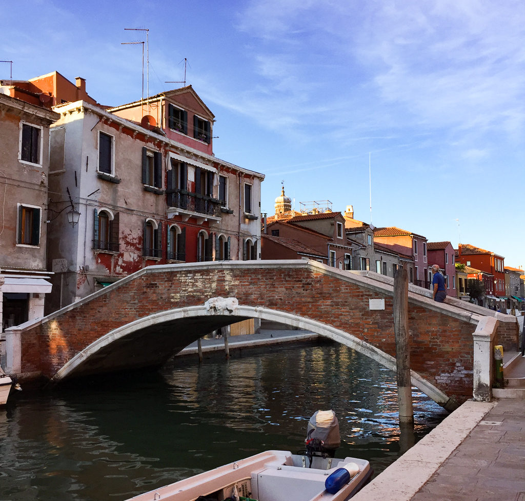 A bridge in Murano, Italy