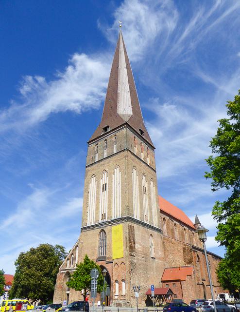 Petrikirche in Rostock, Germany