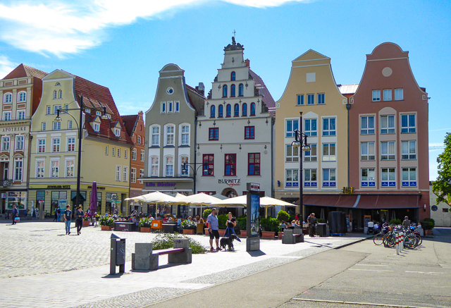 Neuer Markt Rostock Germany