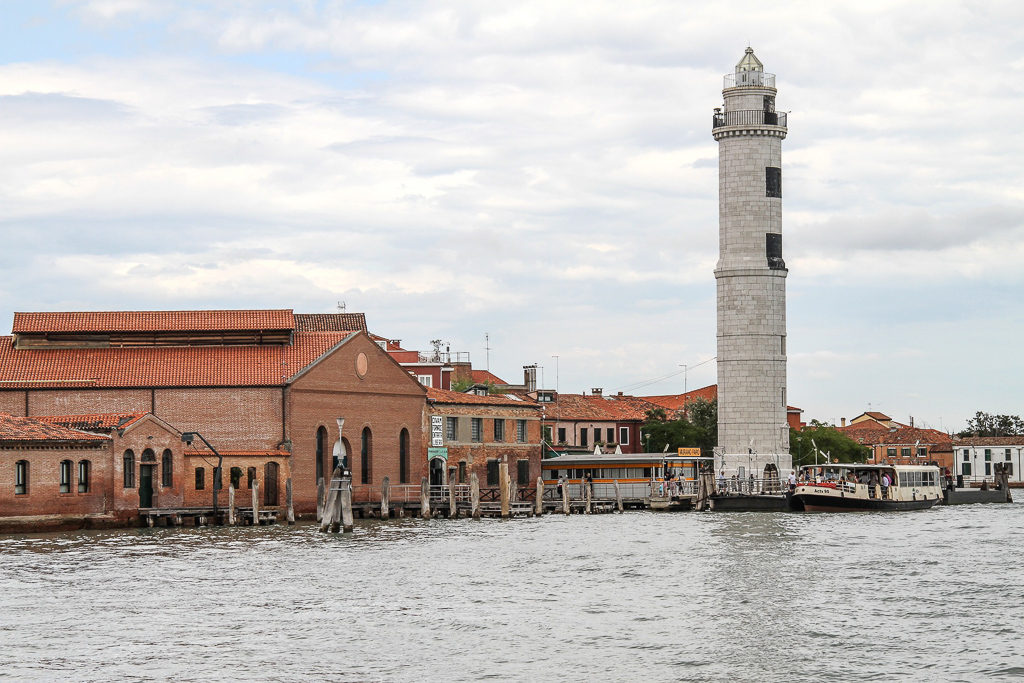 The Lighthouse of Murano in Italy