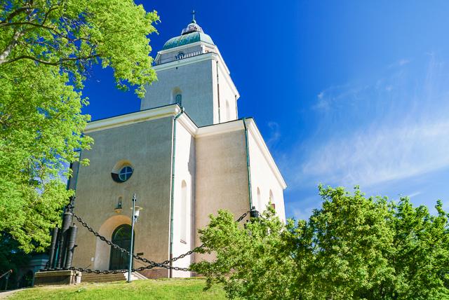 Suomenlinna Church Helsinki Finland