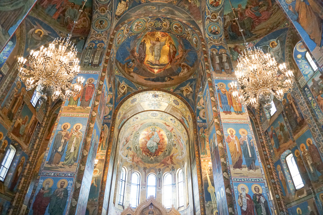 Church of the Savior on Spilled Blood St. Petersburg Russia