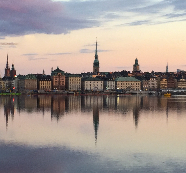 Stockholm at sunrise is just one of the beautiful sights you see on the Viking Homelands Cruise of Northern Europe!