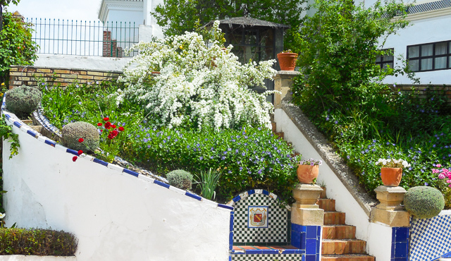 Mondragon Palace garden, Ronda, Spain