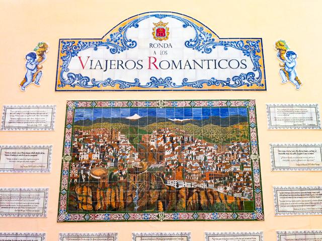 A mural in Ronda, Andalusia, Spain