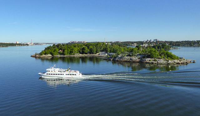 Cruising the Swedish archipelago