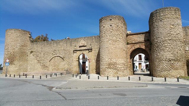 Puerta de Almocabar, Ronda, Spain