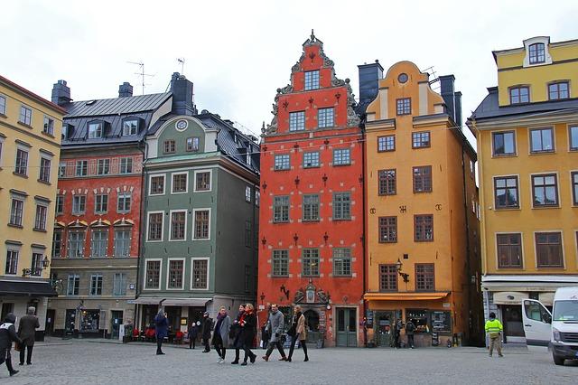 Stortorget Gamla Stan Stockholm Sweden