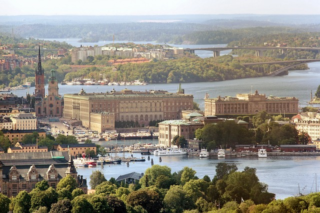 The Royal Palace, Stockholm, Sweden