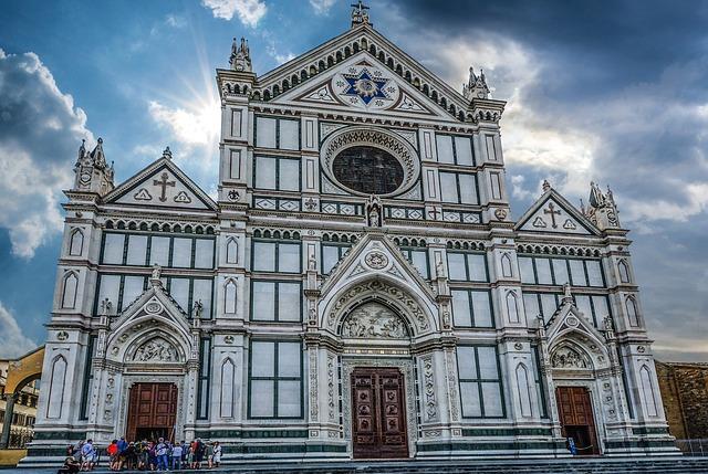 Basilica di Santa Croce in Florence Italy